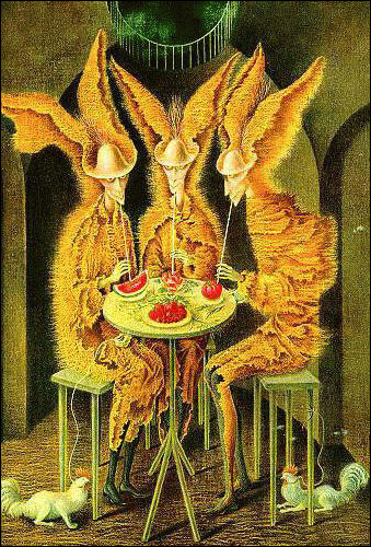 An early love of mine is Remedios Varo - a rare female Surrealist that